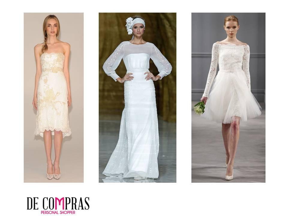 Color vestido novia segundas nupcias