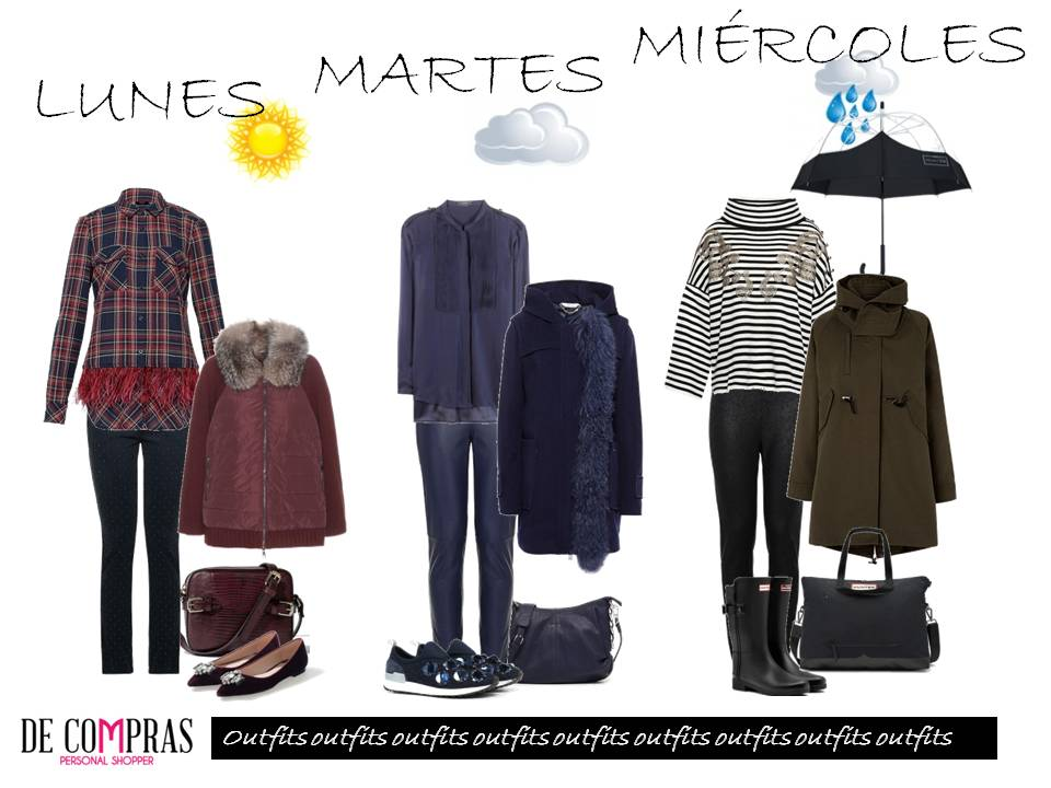 OUTFITS SEMANALES I